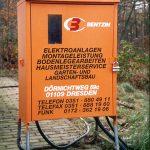Baustromanlagen bis 63 Ampere Krananschluss